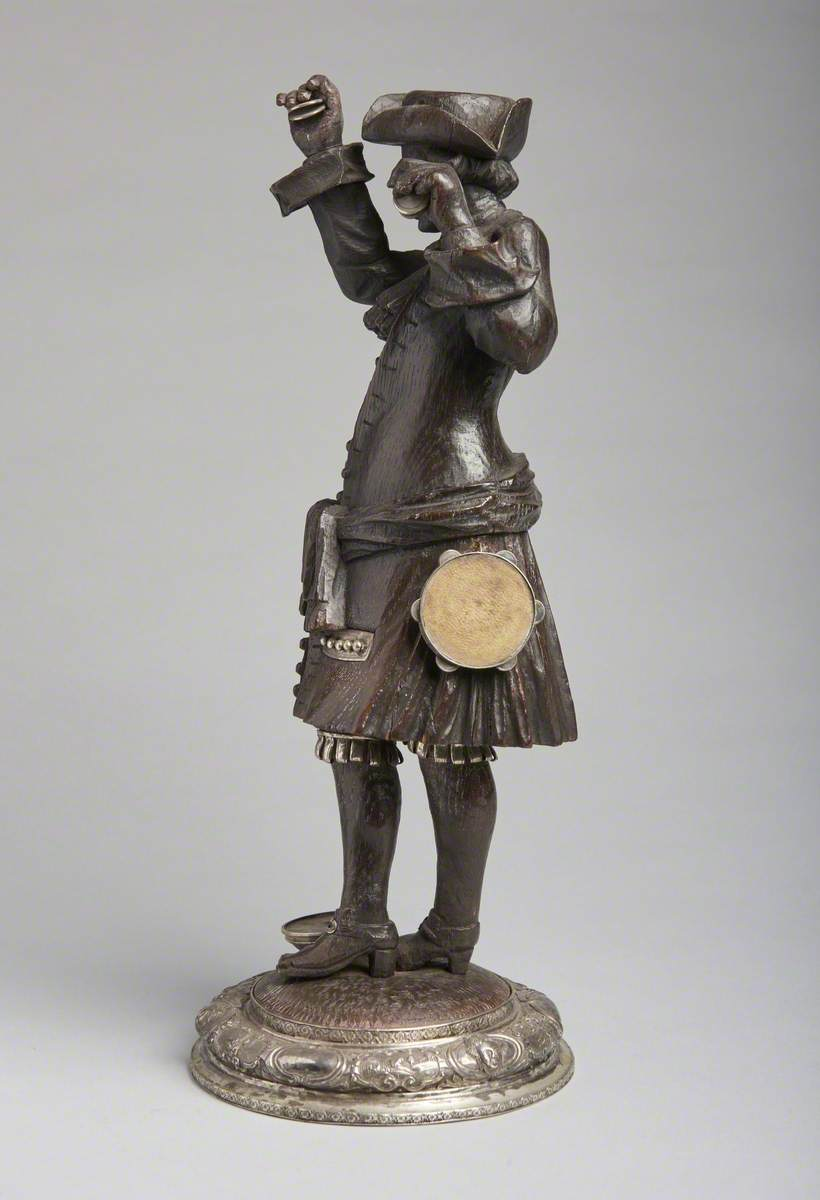 Musician with Castanets and Tambourine