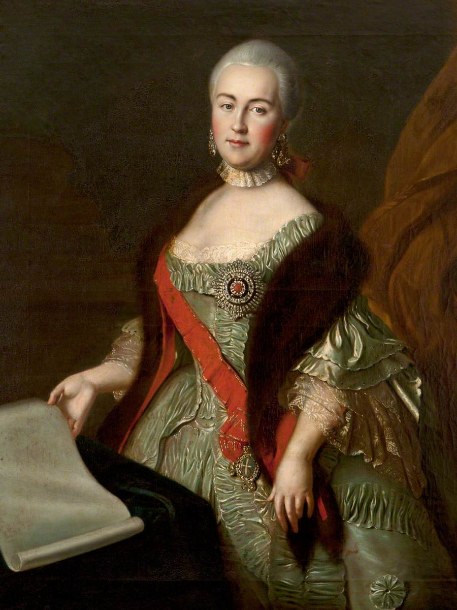 Czarina Catherine the Great (1729–1796)
