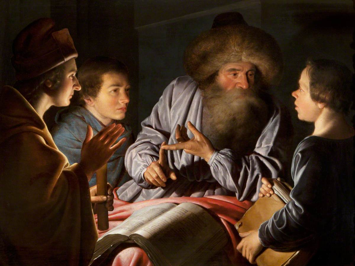 Philosopher and His Pupils