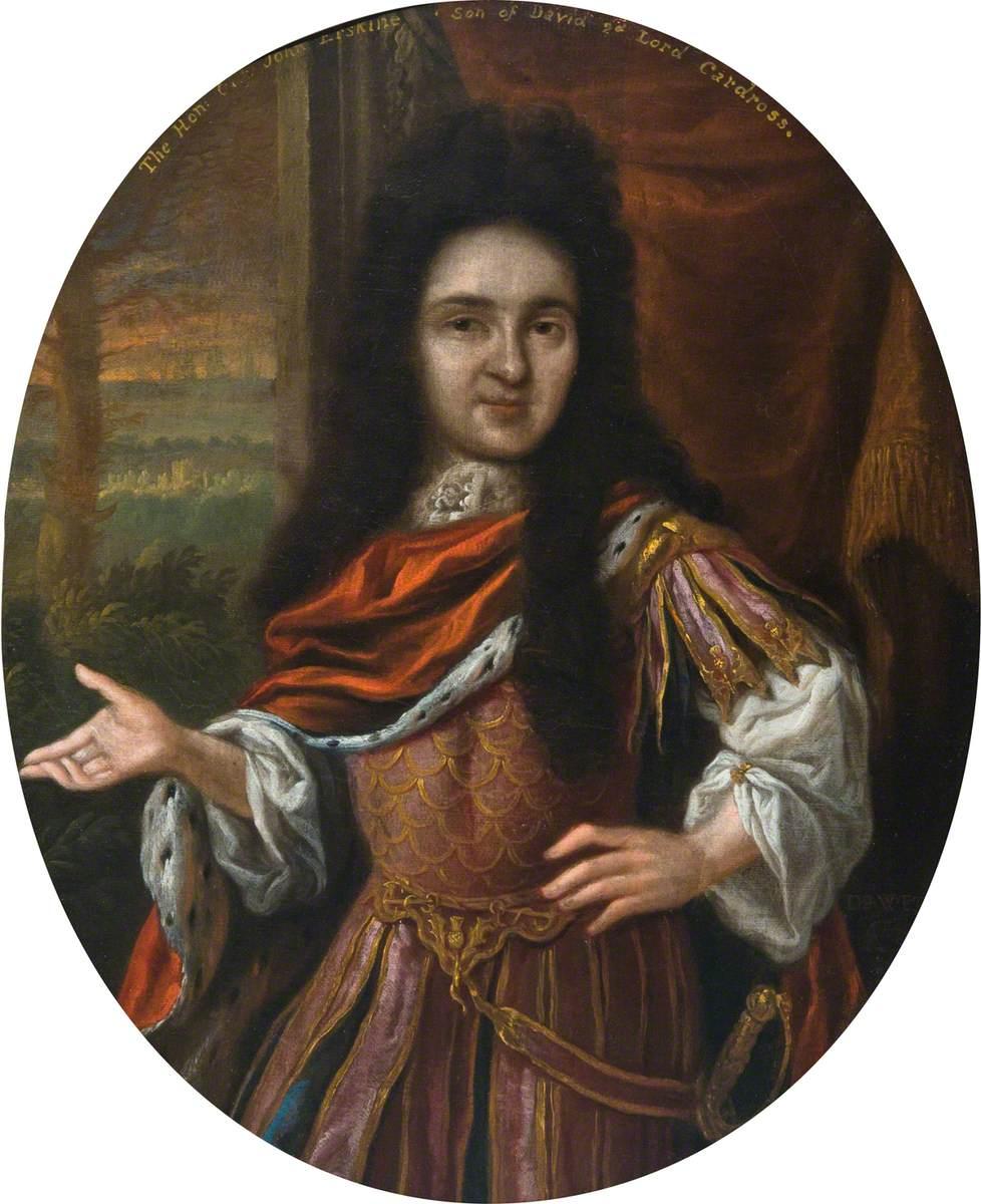 The Honourable C. John Erskine, Son of David, 2nd Lord Cardross