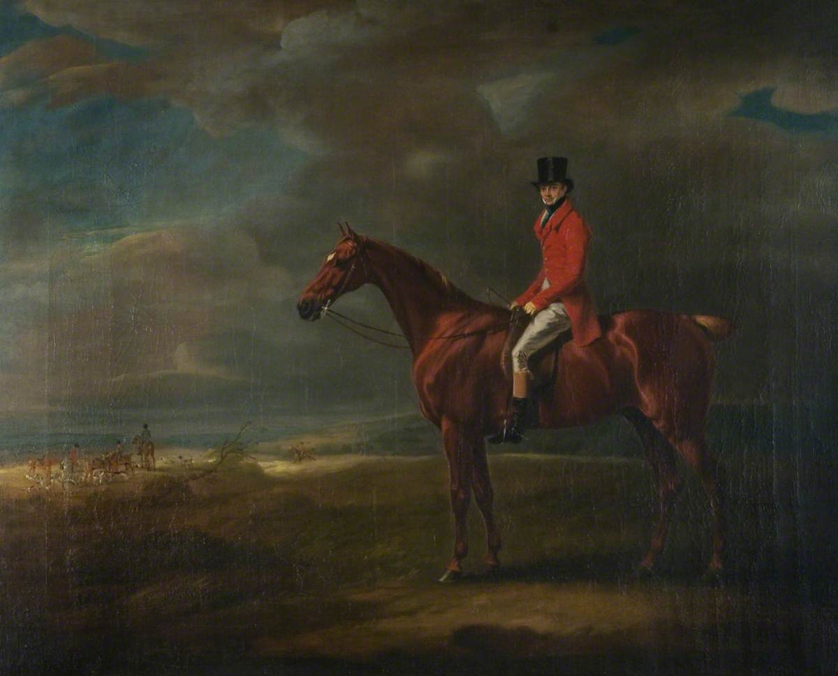 Archibald, Lord Kennedy, Later Earl of Cassillis, on Horseback