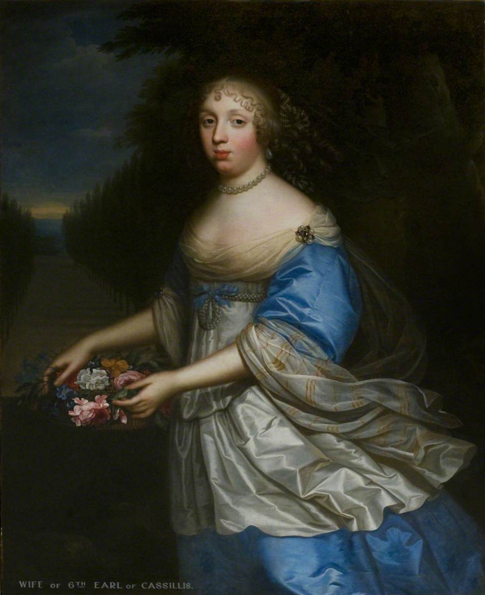 Margaret Hay (d.1695), Widow of Lord Kerr, 2nd Wife of John Kennedy, 6th Earl of Cassillis