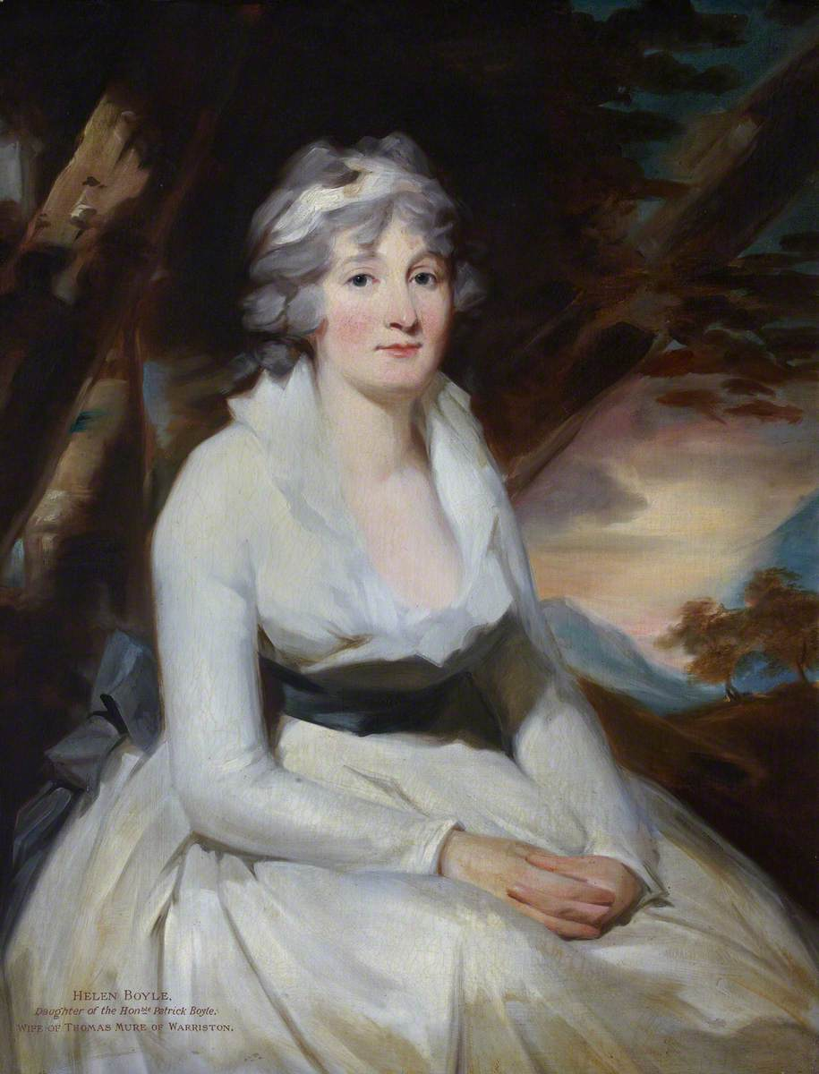 Helen Boyle, Daughter of the Honourable Patrick Boyle, Wife of Thomas Mure of Warriston