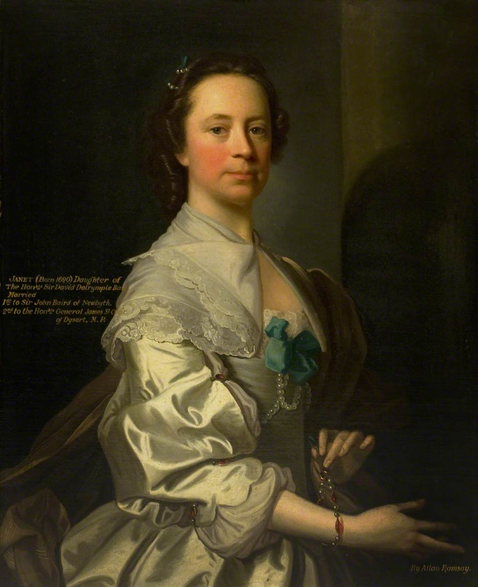 Janet, Daughter of the Honourable Sir David Dalrymple, Bt