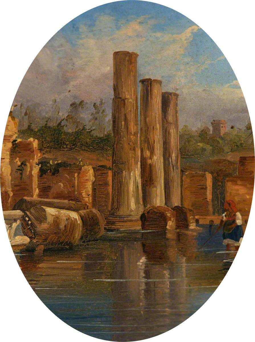 Classical Columns in Italy