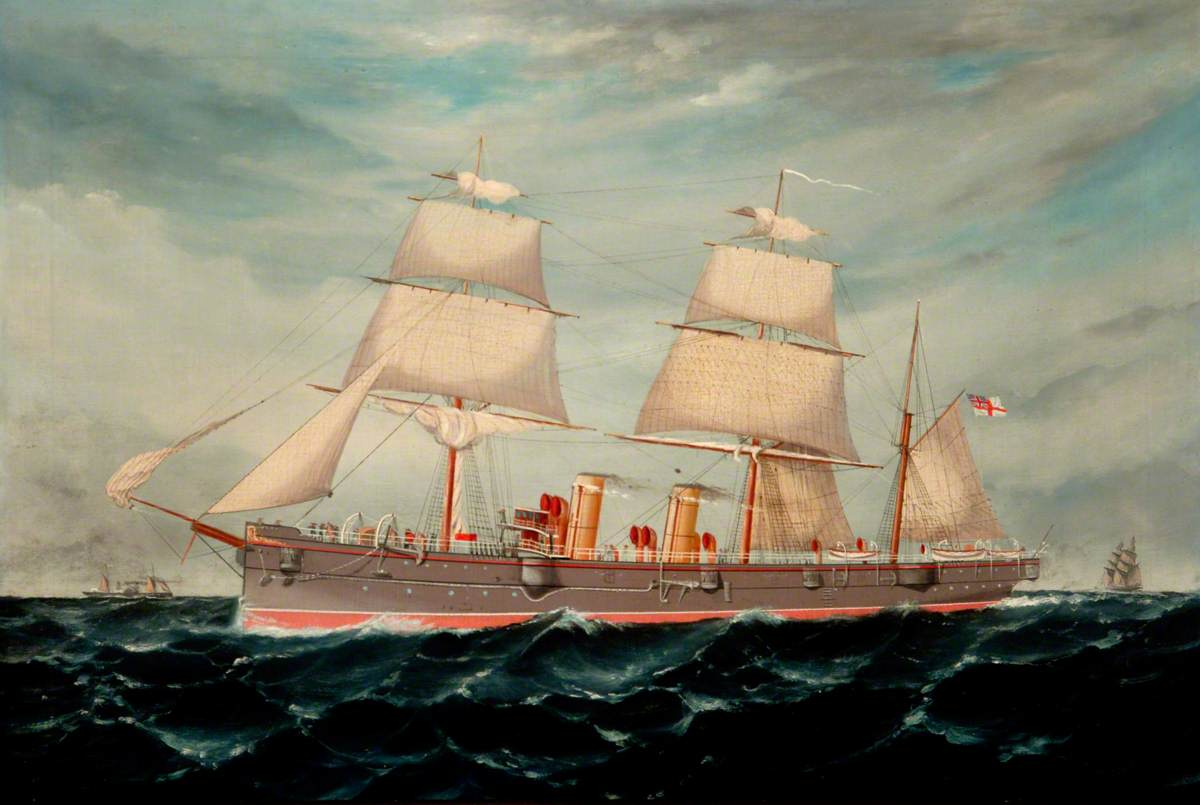 Warship Cruiser of the 'Leander' Class