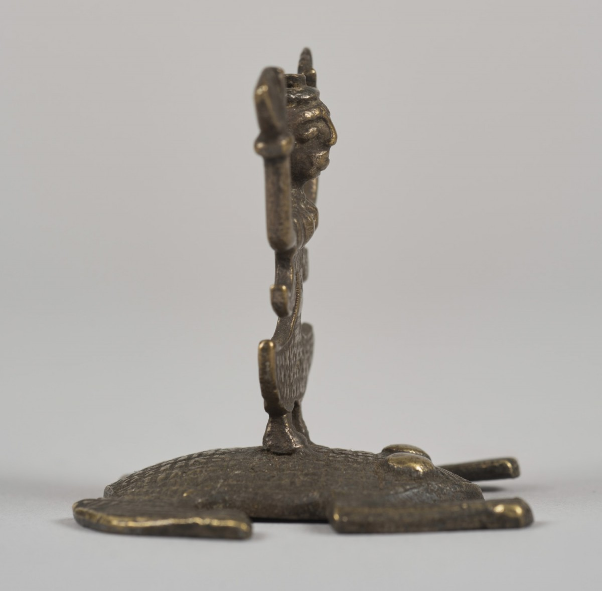 Female Deity Standing on a Frog