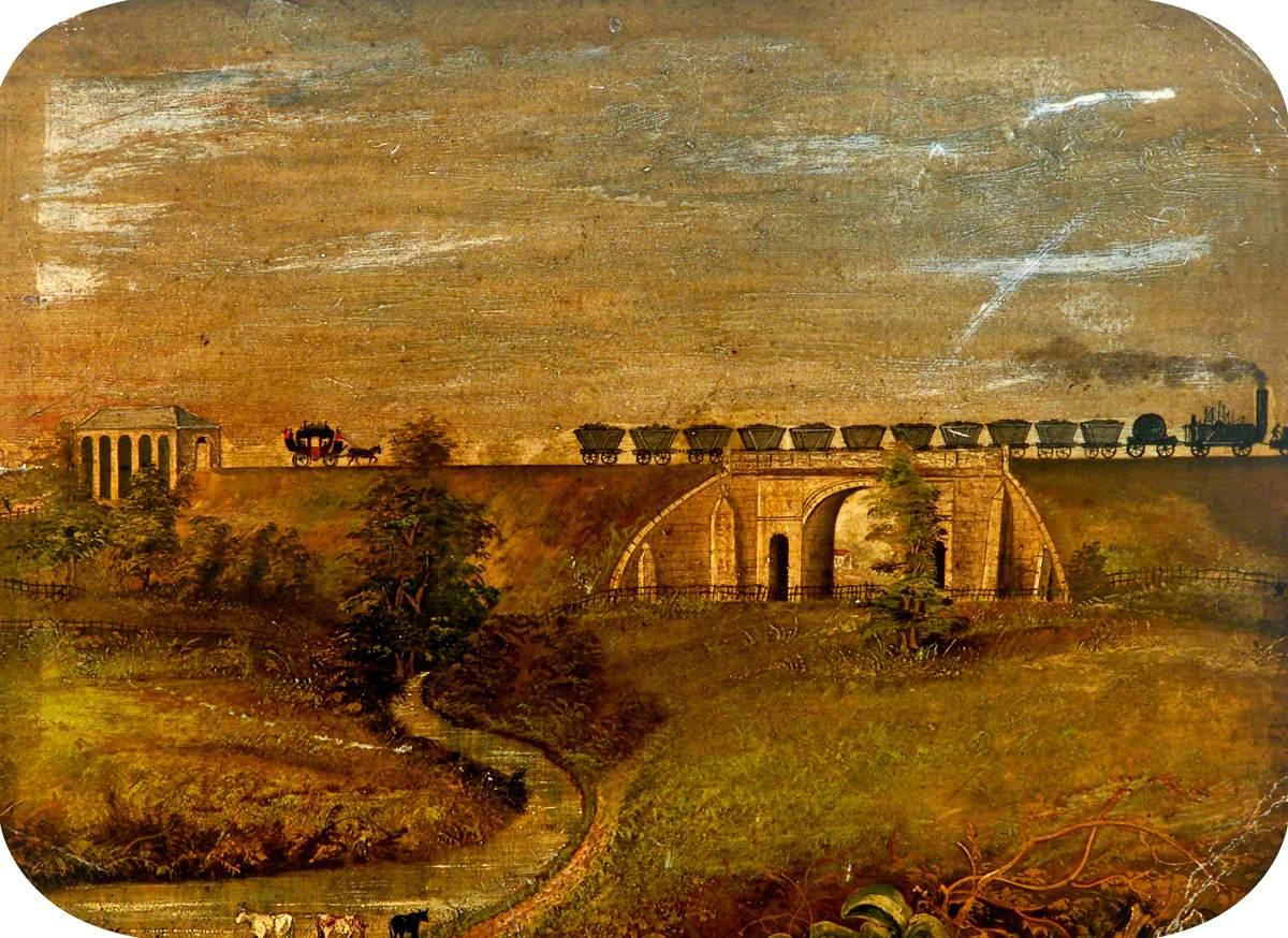 Stockton and Darlington Railway Coal Train