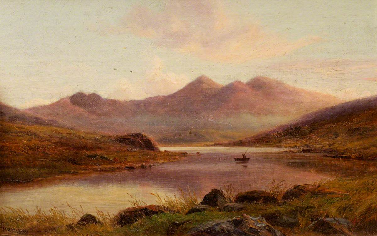 Landscape with Mountains: Snowdon