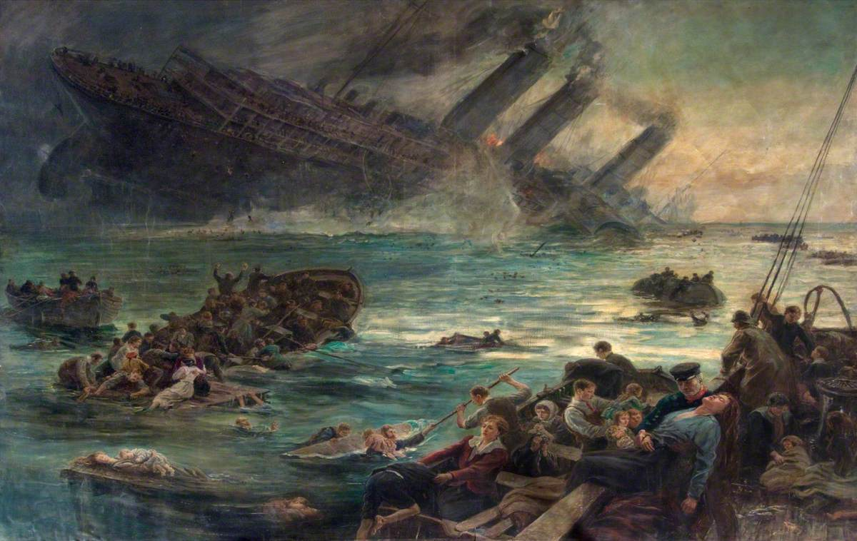 Lest We Forget – The Sinking of the Lusitania