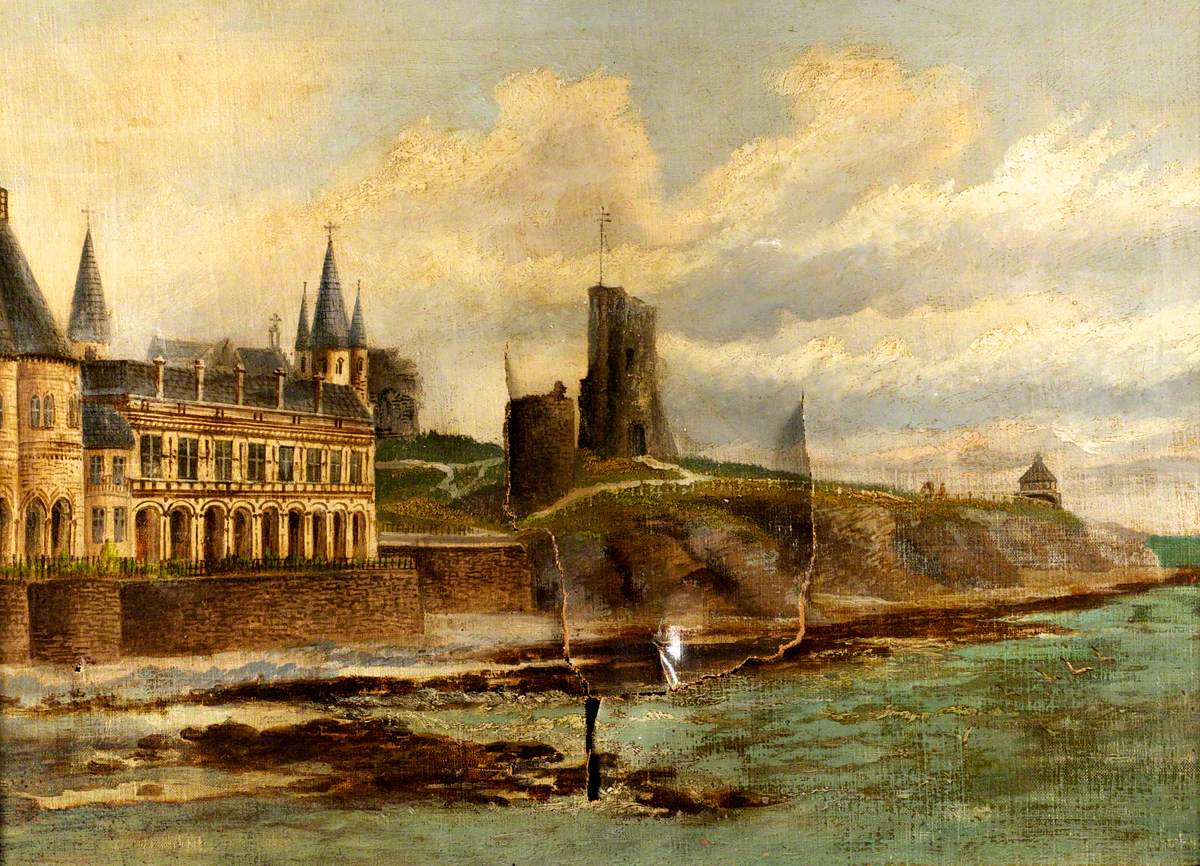 Old College and Castle, Aberystwyth