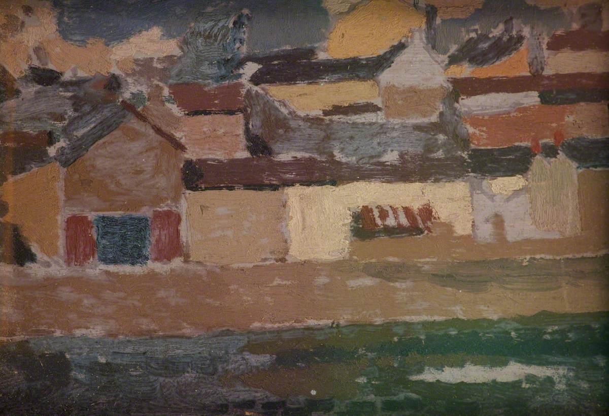 Townscape, Carmarthen Quay (?)