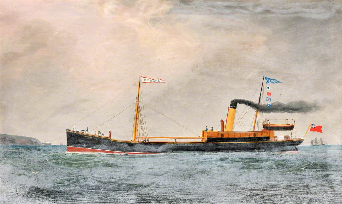 Vessel SS 'Mourne'
