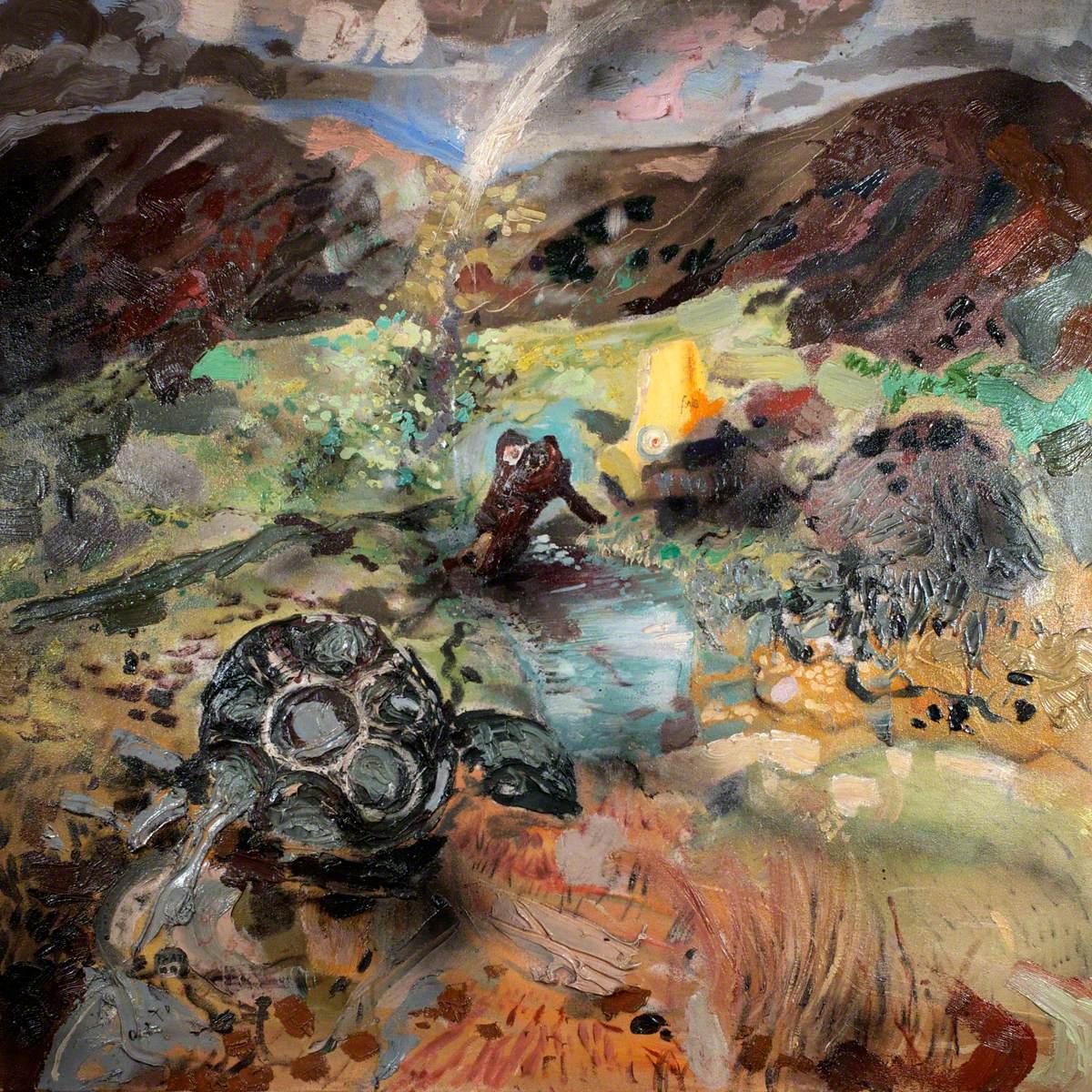 The Wreckage on Carnedd Llewelyn