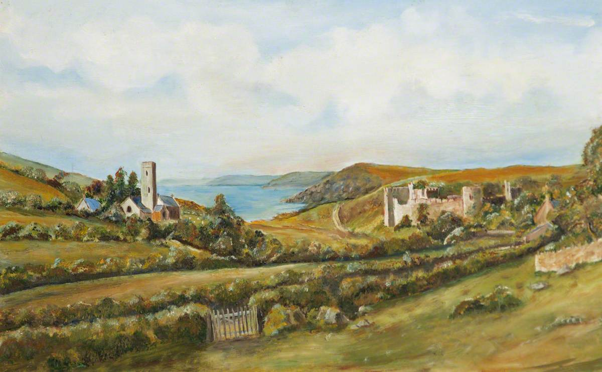 Church, Castle and Bay, Manorbier