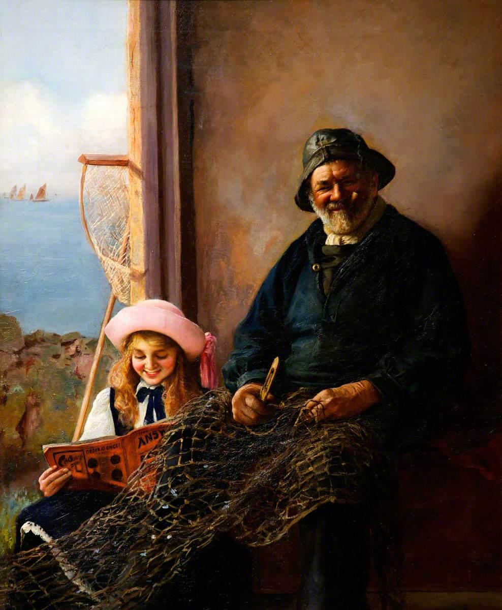 A Tenby Fisherman