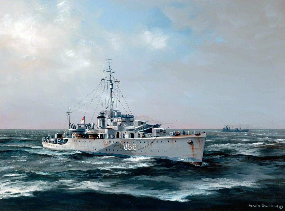Warship U56 'Enchantress'