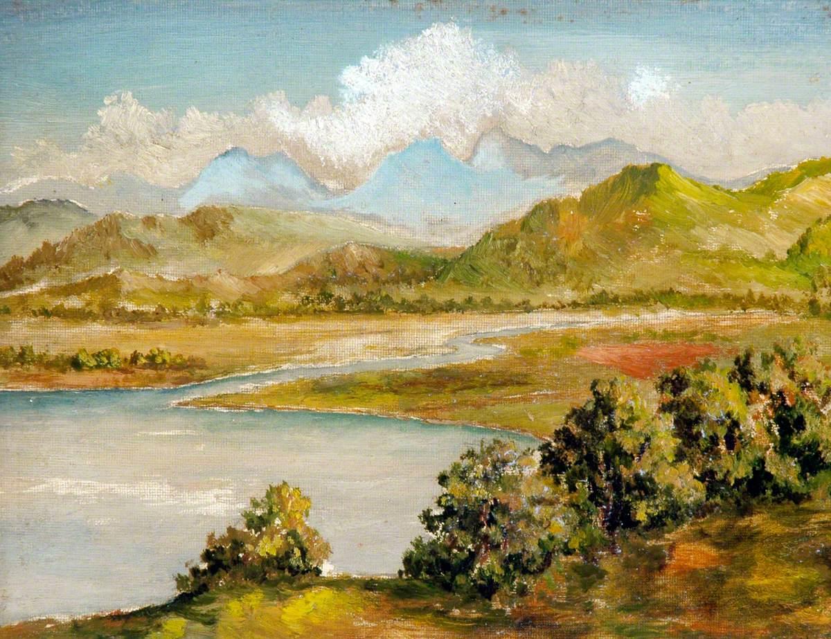 Pastoral Scene with Lake