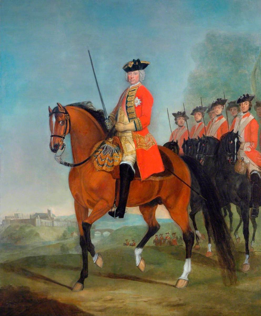 Major General the Honourable Sir Charles Howard, CB, Colonel of the Regiment (1738–1748)