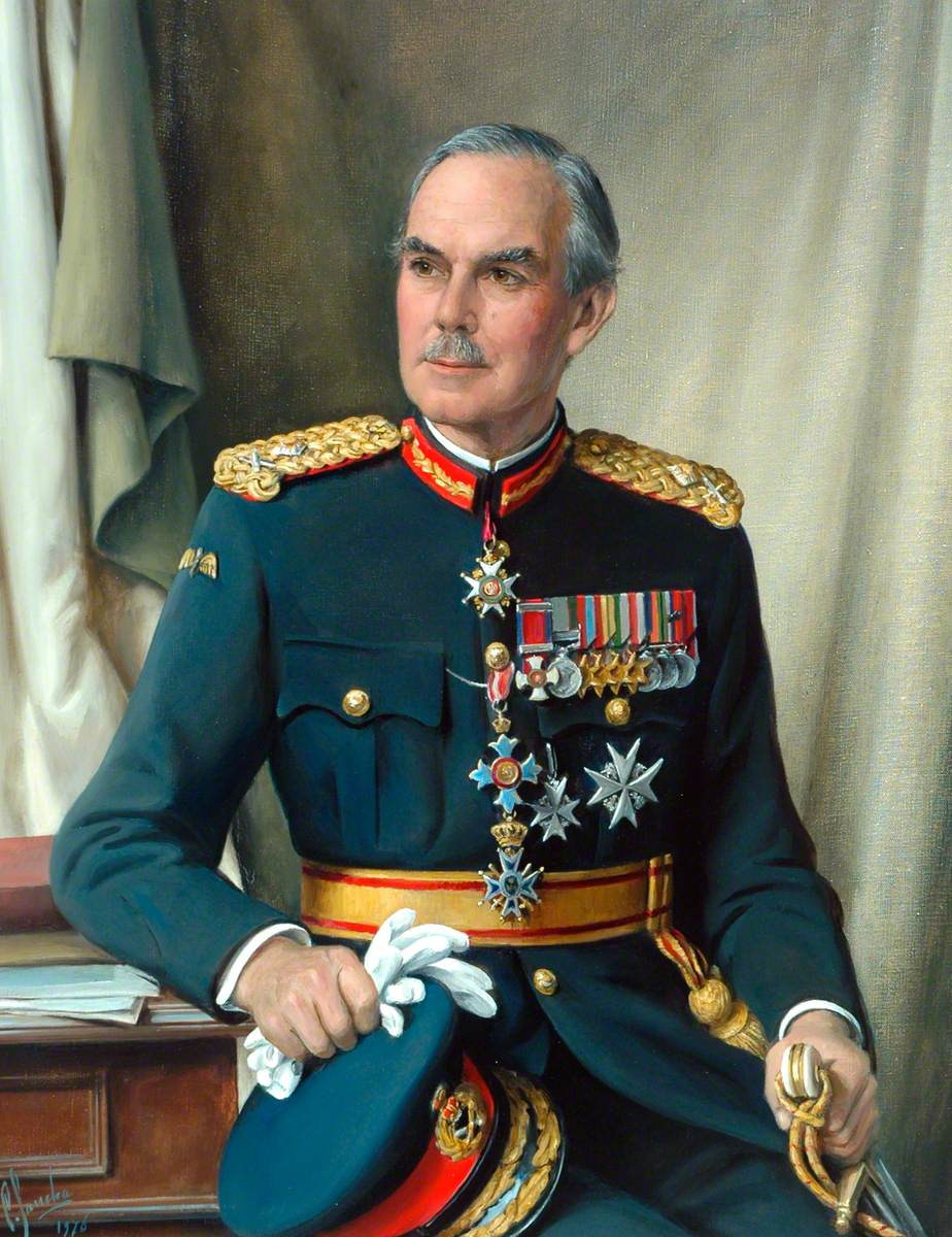 Major-General Desmond Spencer Gordon, CB, CBE, DSO Colonel of the Regiment (1965–1975)