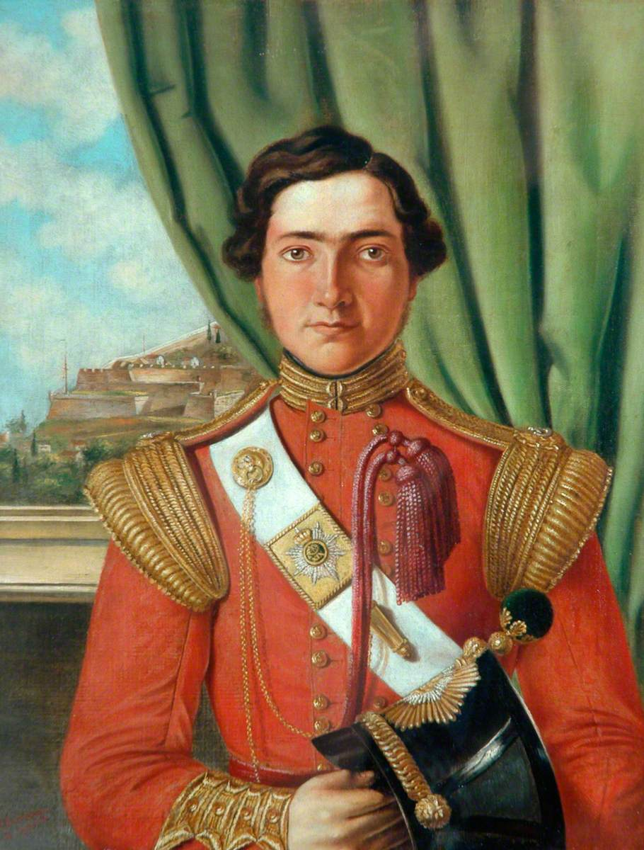 Ensign H. J. Montgomery Campbell, Light Company, 19th Regiment (1839–1851)