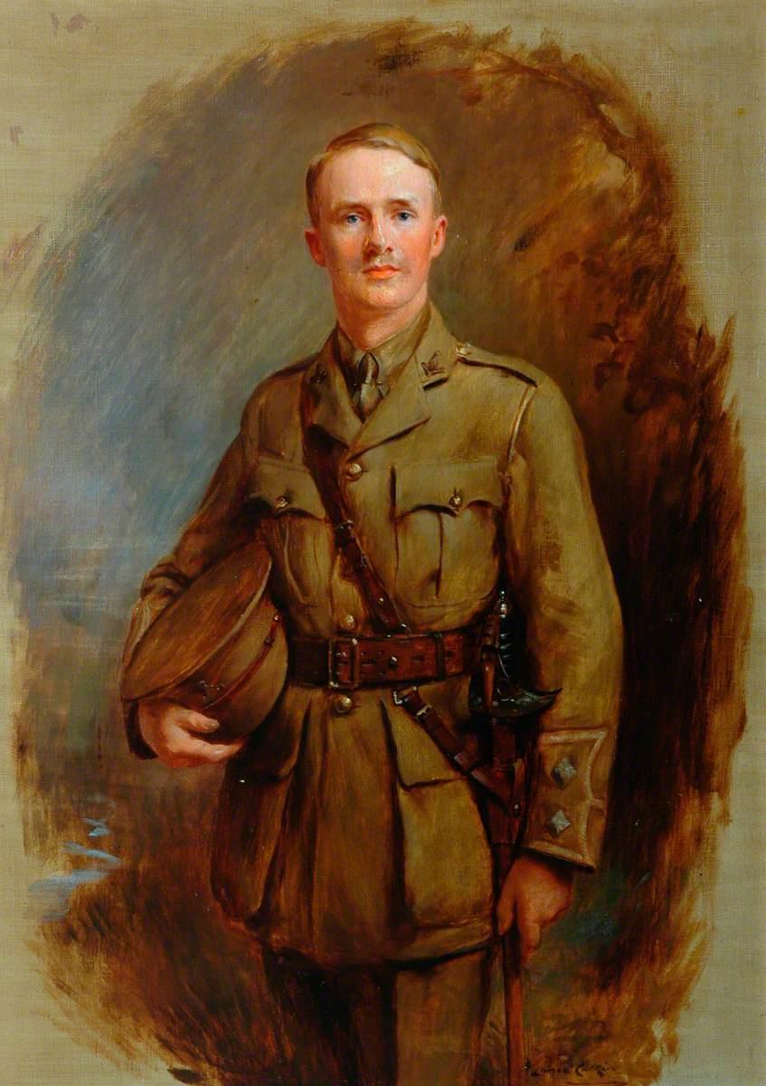 Second Lieutenant Percy Orde-Powlett, 4th Battalion