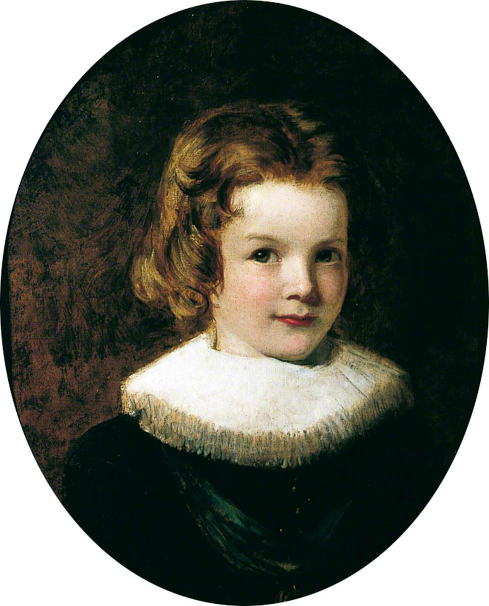 The Artist's Son, Walter (Portrait of a Young Boy Wearing Ruff)