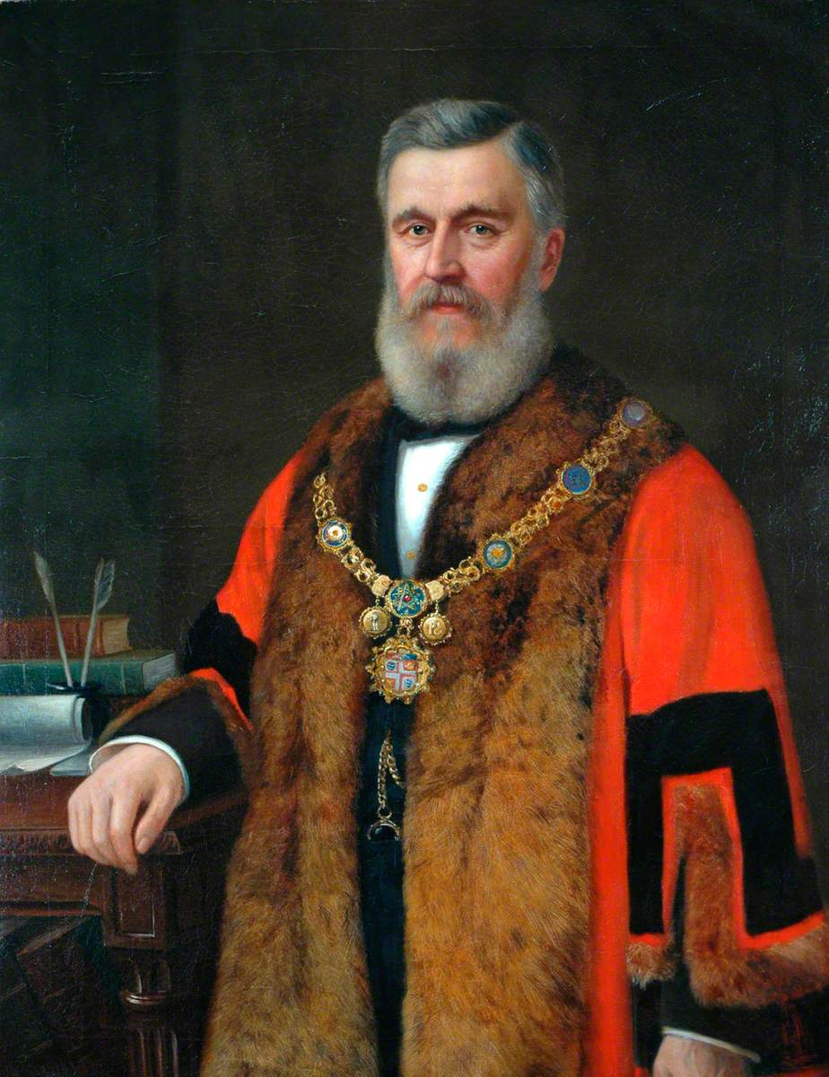 Alderman Richard Ellis, JP, Mayor (1884–1887)