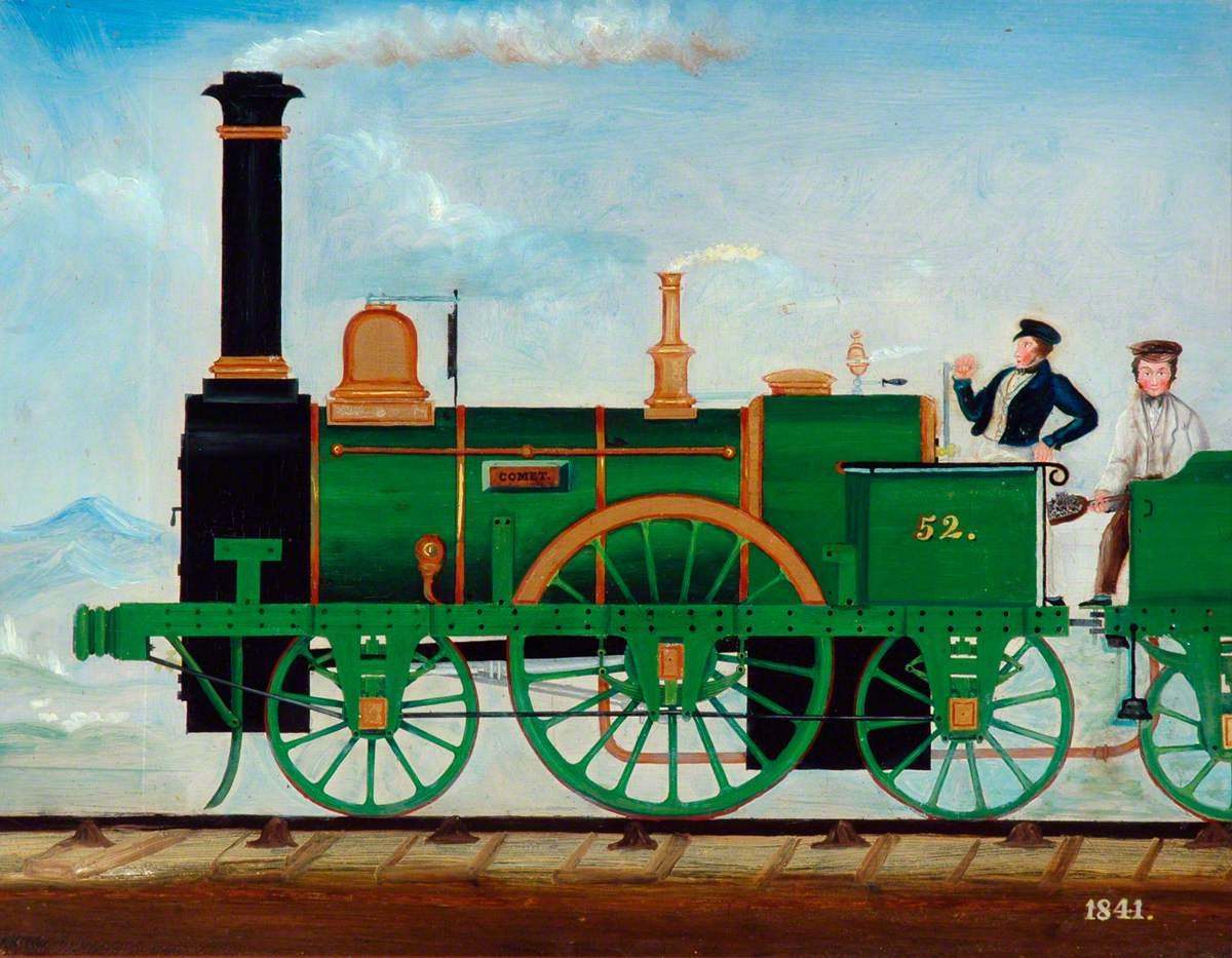 Stockton and Darlington Railway 2–2–2 Locomotive No. 52 'Comet'