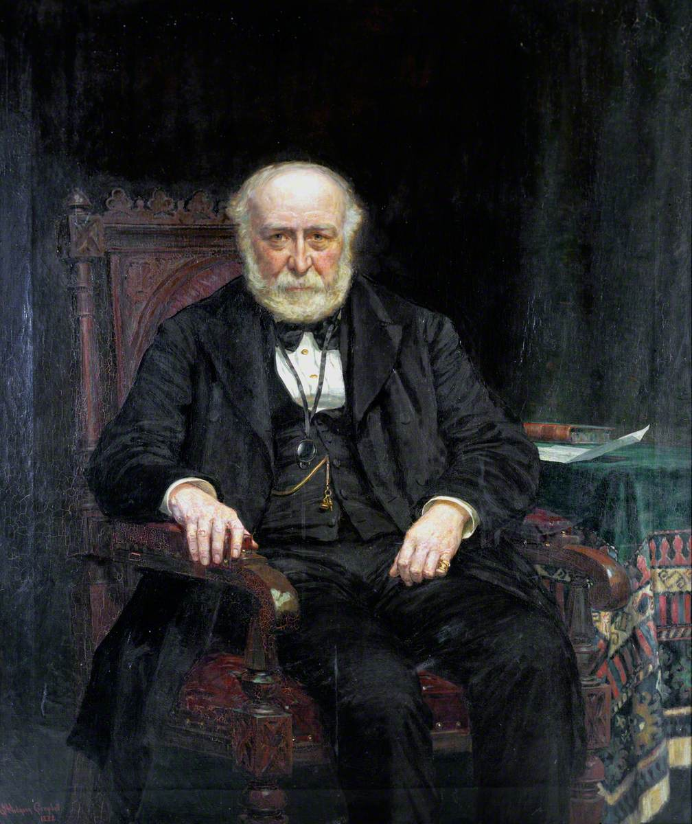 Edward Fletcher (1807–1889), Locomotive Engineer, North Eastern Railway