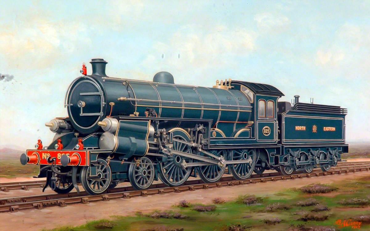 North Eastern Railway 4–6–0 Locomotive No. 825