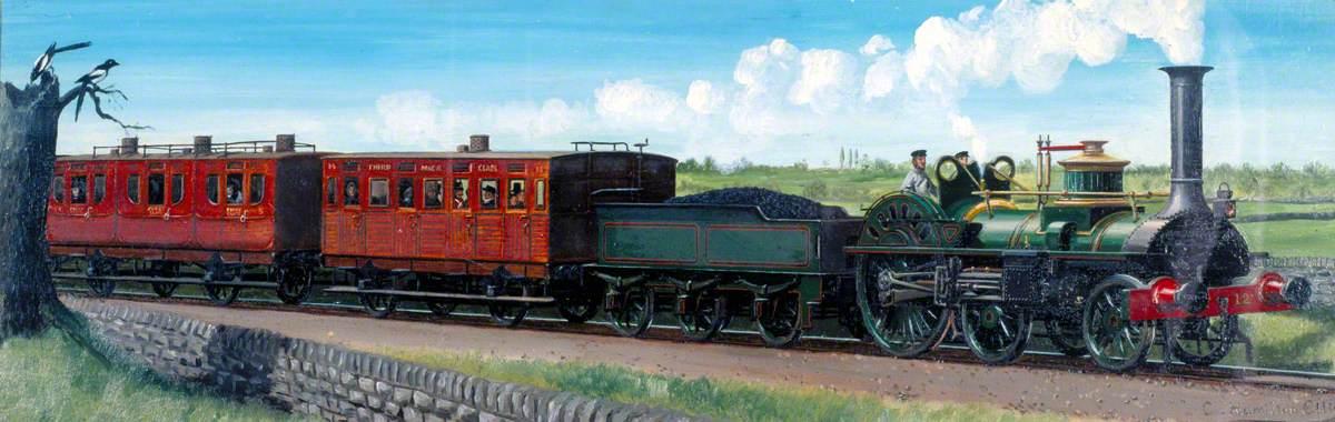 Travel in 1855 (Maryport and Carlisle Railway)