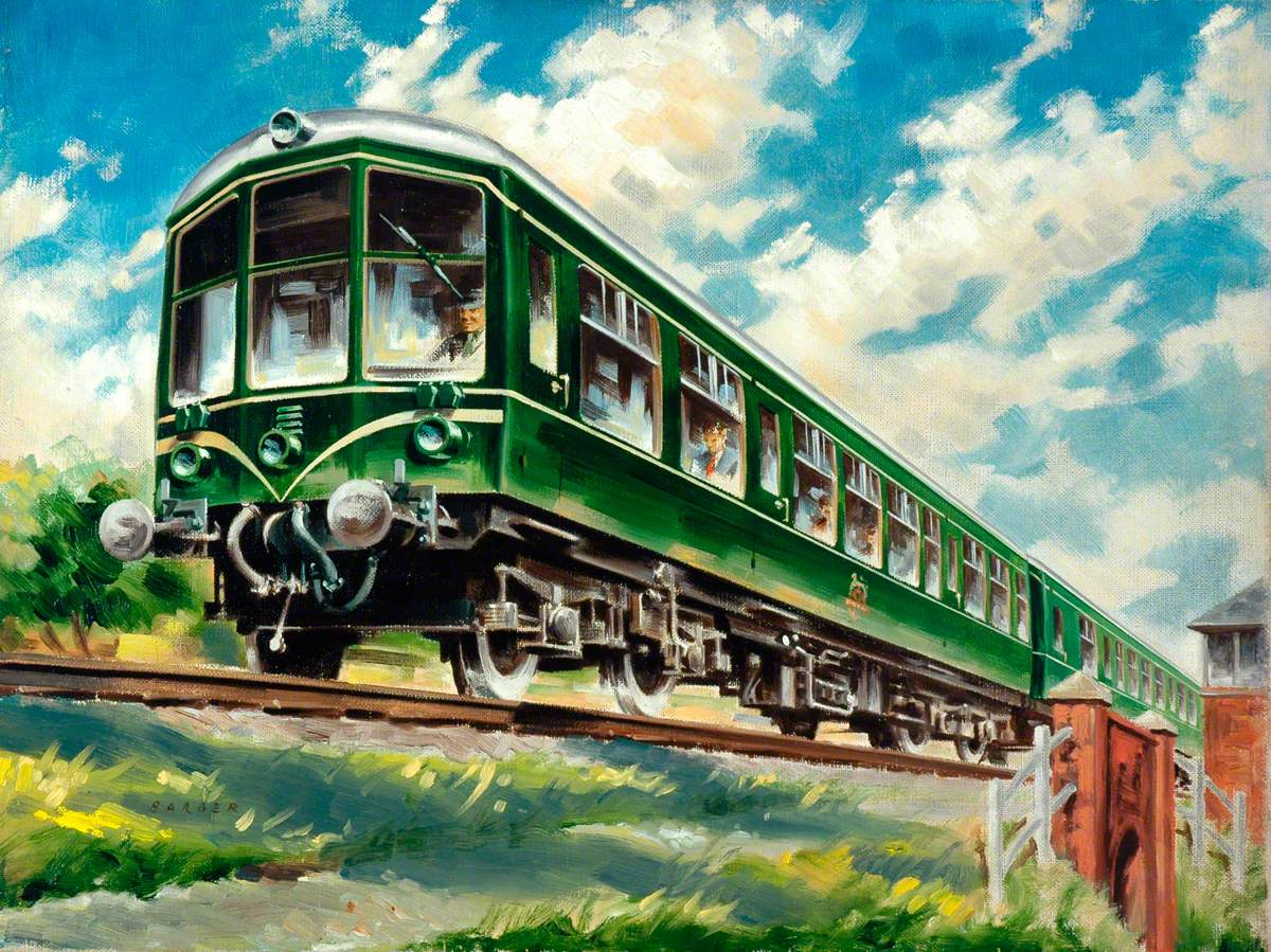 Diesel Trains: Faster, Cleaner, More Comfortable