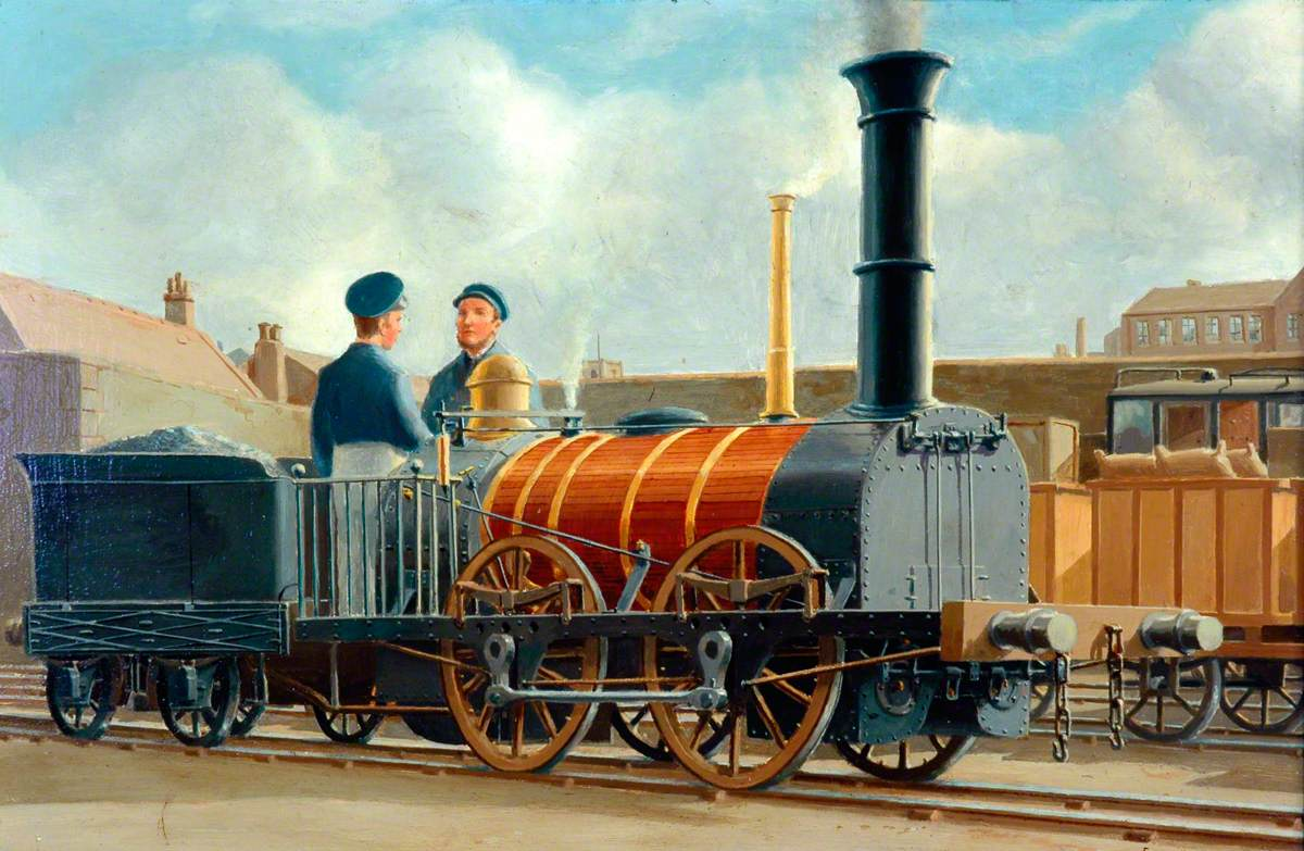 Liverpool and Manchester Railway 0–4–0 Locomotive 'Samson'