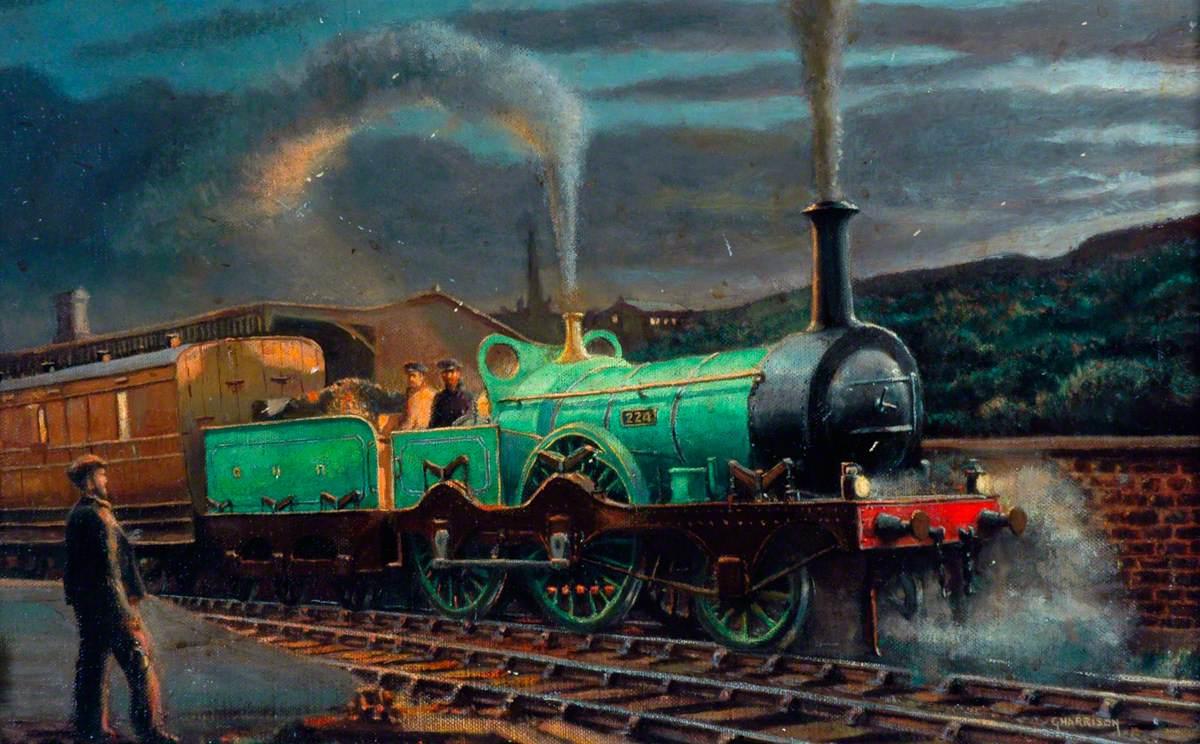 Great Northern Railway 2–4–0 Locomotive No. 224