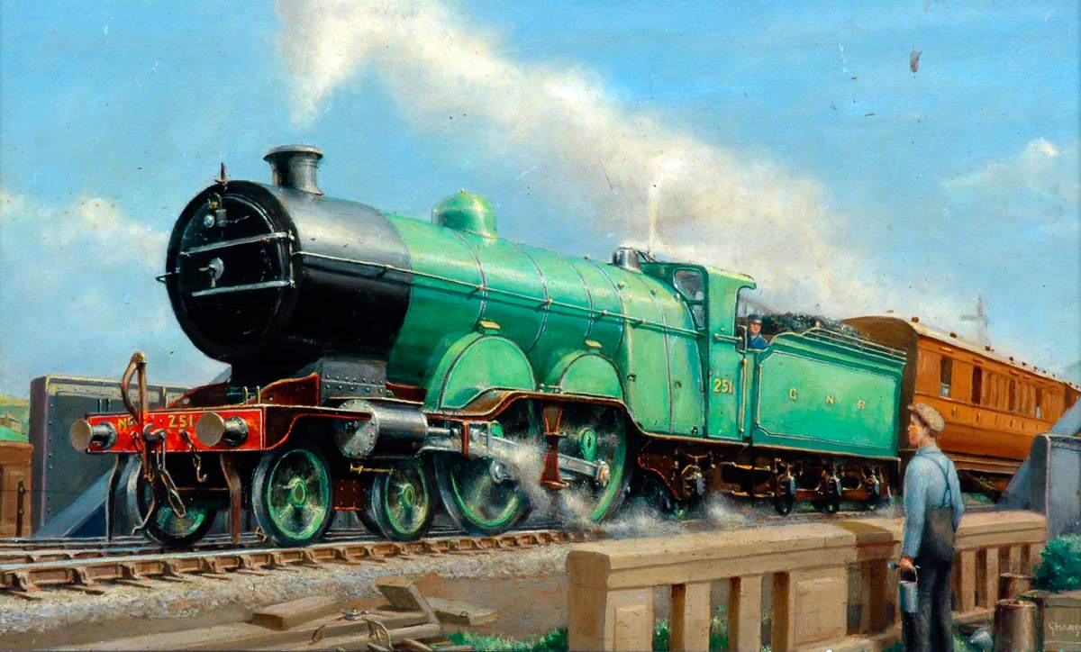 Great Northern Railway 4–4–2 Locomotive No. 251
