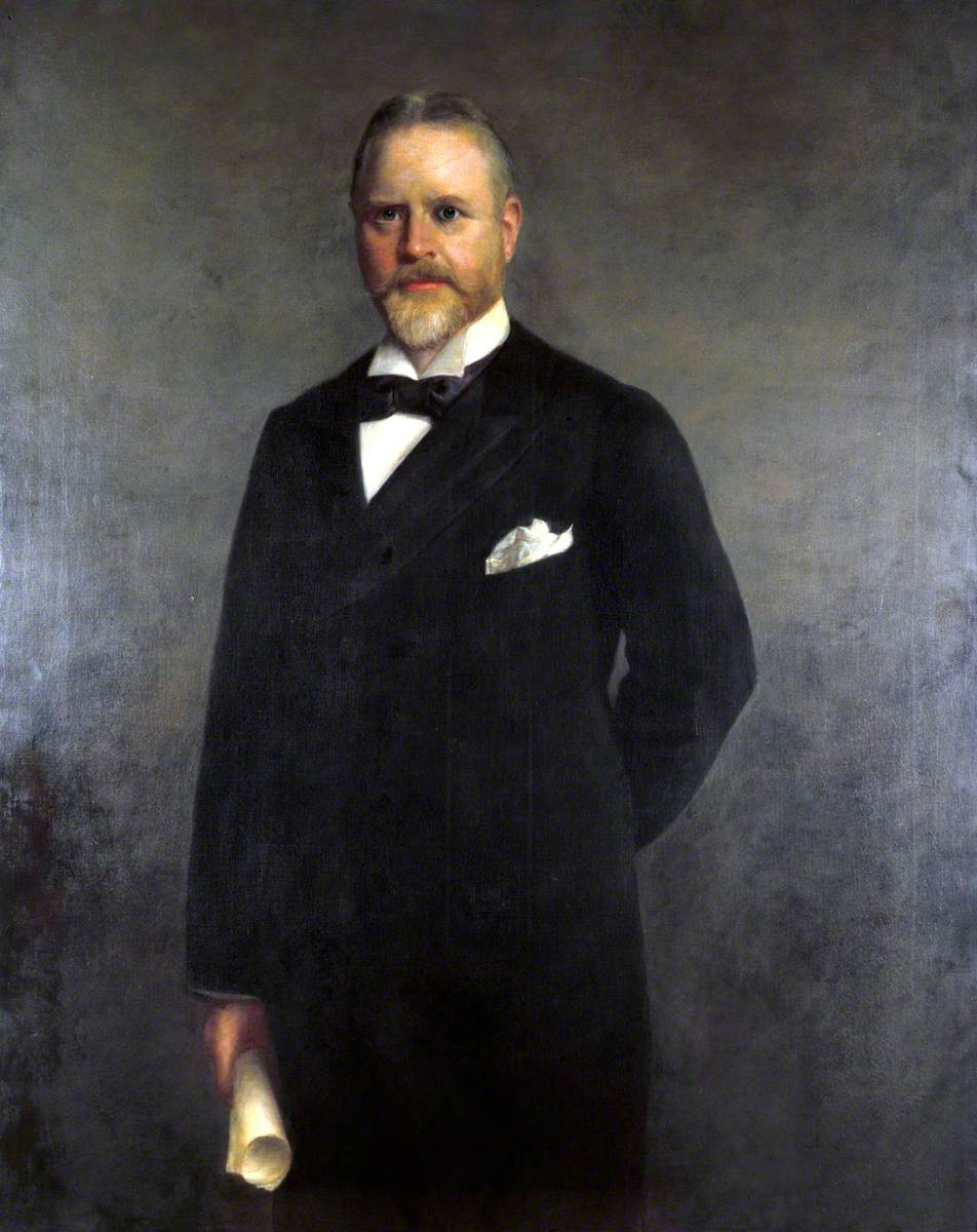 Colonel Sir William Pollitt, VD, JP, DL, Officer of Order of Leopold, Belgium, British Railway Promoter and Government Official