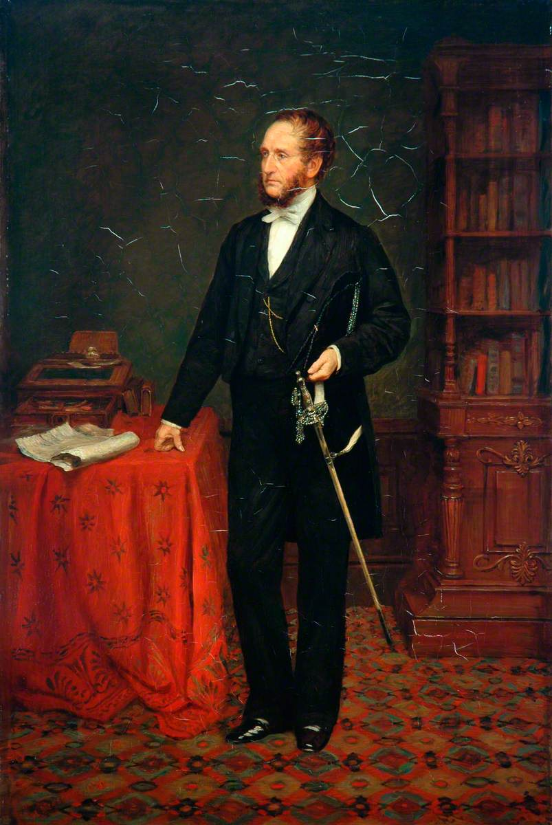 John Chapman, MP, DL, Chairman, Manchester, Sheffield and Lincolnshire Railway (1860–1864)