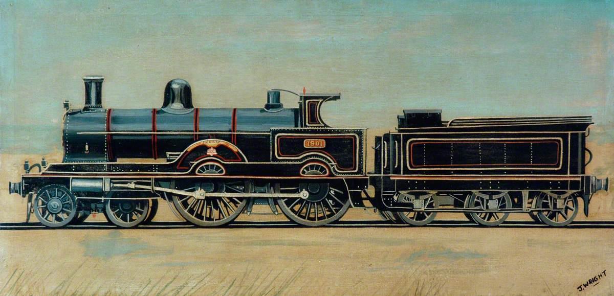 London and North Western Railway 4–4–0 Locomotive No. 1901 'Jubilee'