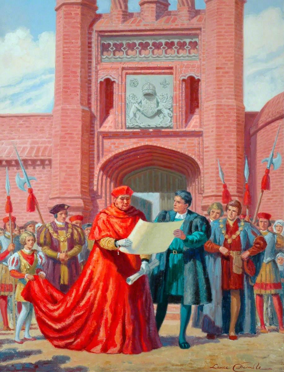 Ipswich: Wolsey's Gate