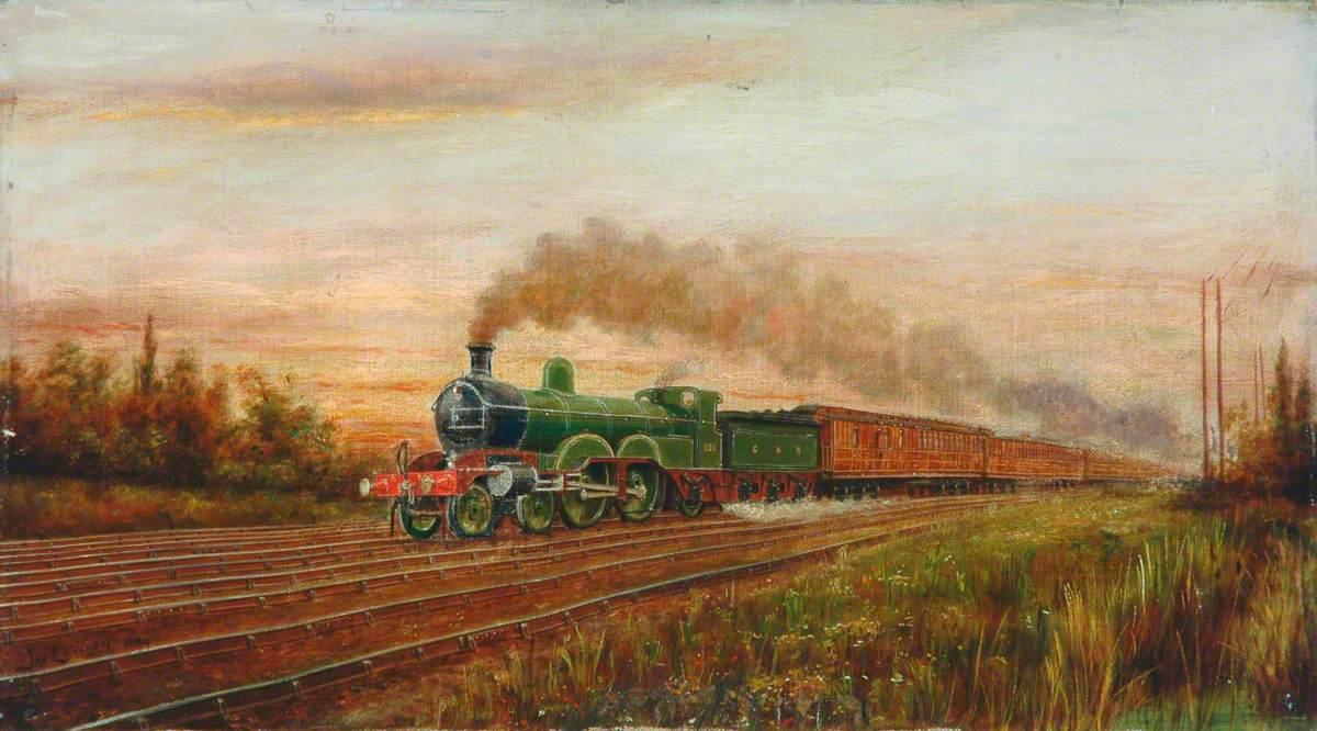 Great Northern Railway 4–4–2 Locomotive No. 990