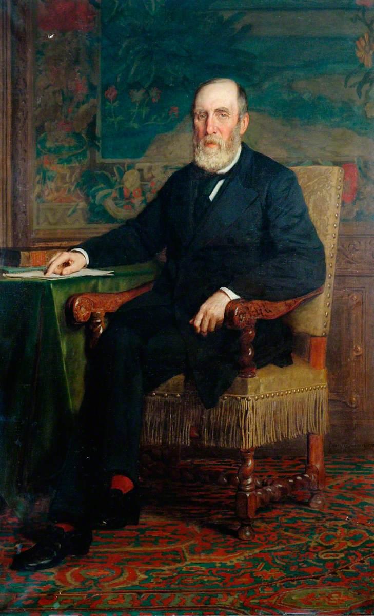 Samuel Laing, Chairman, London, Brighton and South Coast Railway