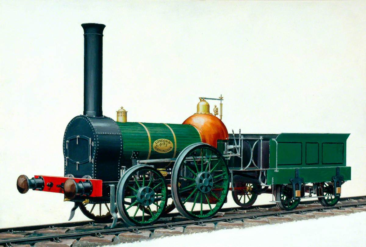 London and Birmingham Railway 2–2–0 Locomotive No. 1