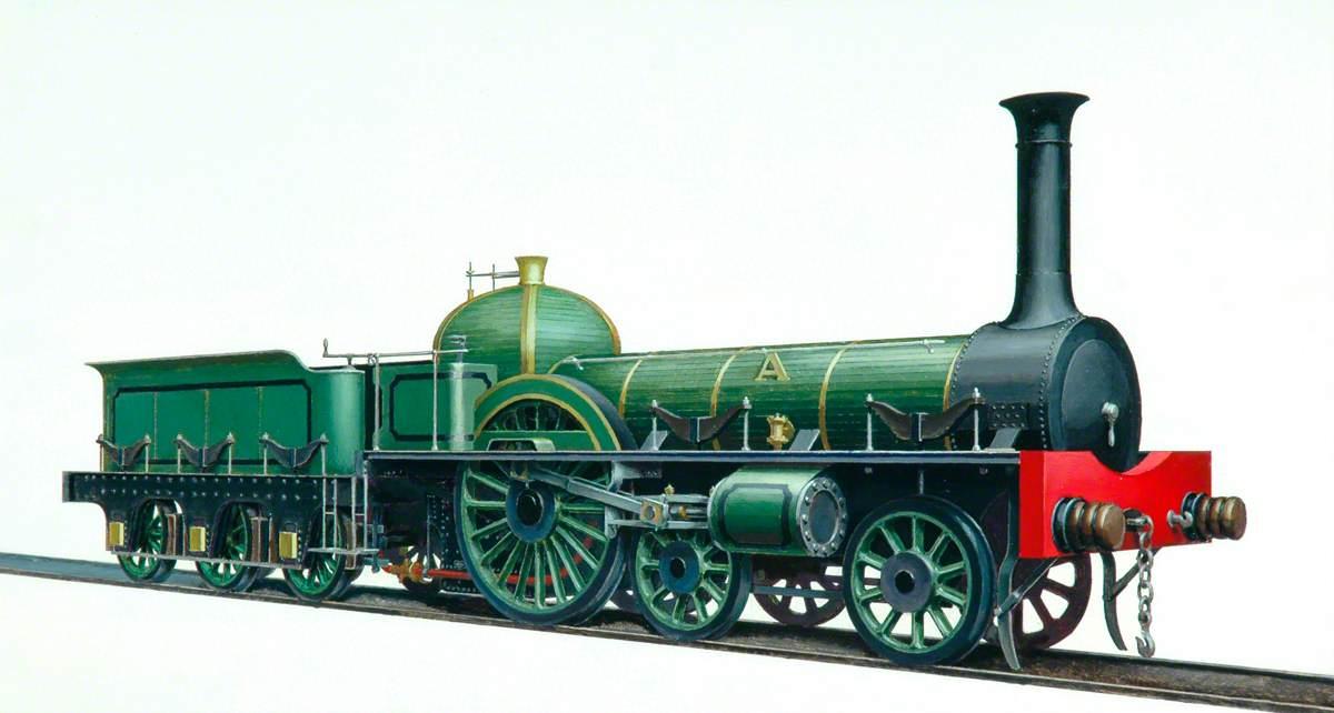 York, Newcastle and Berwick Railway Great A 4–2–0 Locomotive