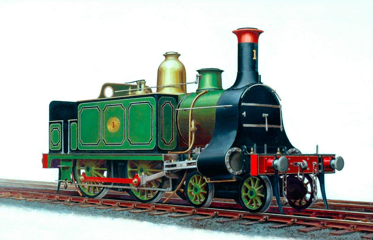 North London Railway 4–4–0T Locomotive No. 1