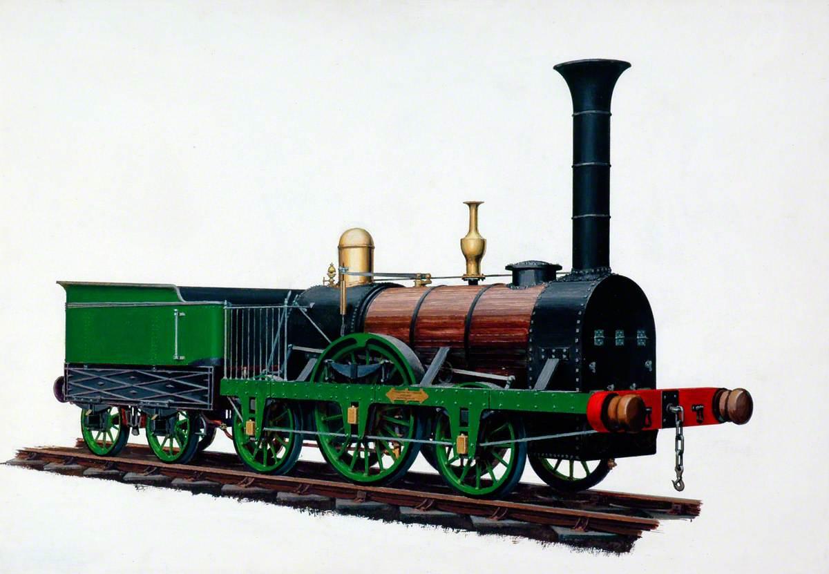2–2–2 Locomotive 'Patentee', Robert Stephenson's Patent Locomotive