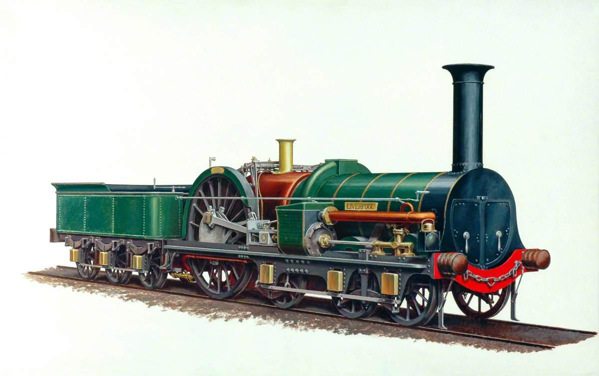 London and North Western Railway 6–2–0 Locomotive 'Liverpool'