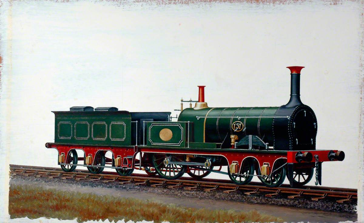 South Eastern Railway 4–2–0 Locomotive No. 137