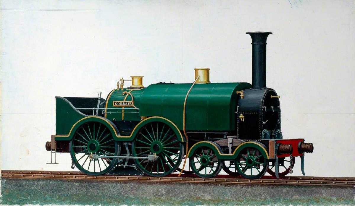 Great Western Railway 4–4–0 Saddletank Locomotive 'Corsair'