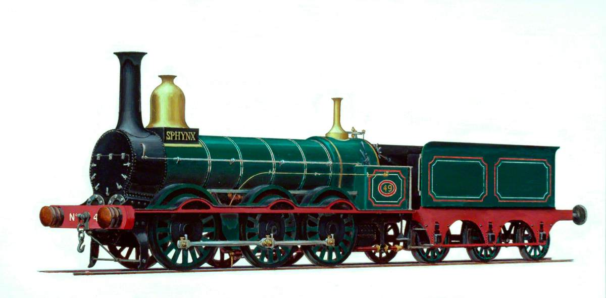 Manchester, Sheffield and Lincolnshire Railway 0–6–0 Goods Engine No. 49 'Sphynx'